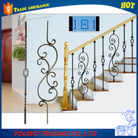 Quality professional wrought iron handrails outdoor