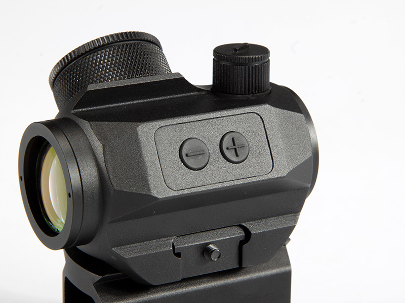 HY9245 Micro T-1 1x21 Red Dot with Tall Riser in black (4)