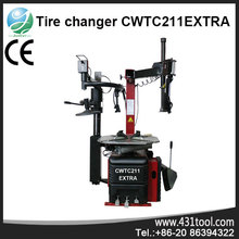 CWTC211EXTRA machines for tire changer with universal lever-less mounting head