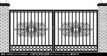Good Quality PVC Powder Coated Zinc Steel Fence