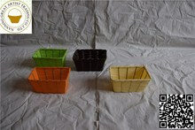 New products in china market colored black vases wholesale with handle square