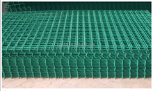 PVC coated welded wire mesh pannel, wire mesh fence