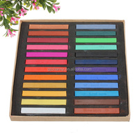 Hot Sale Best Price High Quality 24 Colors Temporary Non-toxic Hair Chalk Dye Soft Hair Pastels Crayon Kit for DIY Hair Style