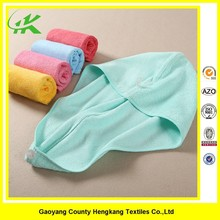 Factory Cheap Personalized Disposable Dry Hair Towel Wrap