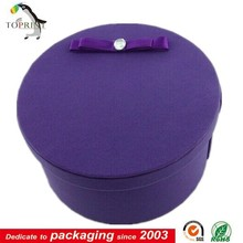 cylinder paper tube hat packaging wax coated paper box