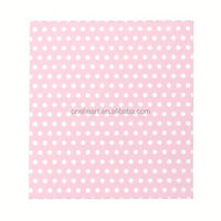 Hot Sale Pink and White Polka Dots Pattern. Memo Notepads arrow sticky note