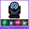 Factory price hot sale 19x15w bee eye led beam moving head light/wedding wash disco equipment