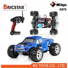 Newest WL toys A979 1:18 whole proportional RC 4WD truck 2.4G rc model car toy with shock system top speed 50KM/H.