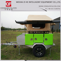 2015 New small camping tent trailer roof top tent camper trailers