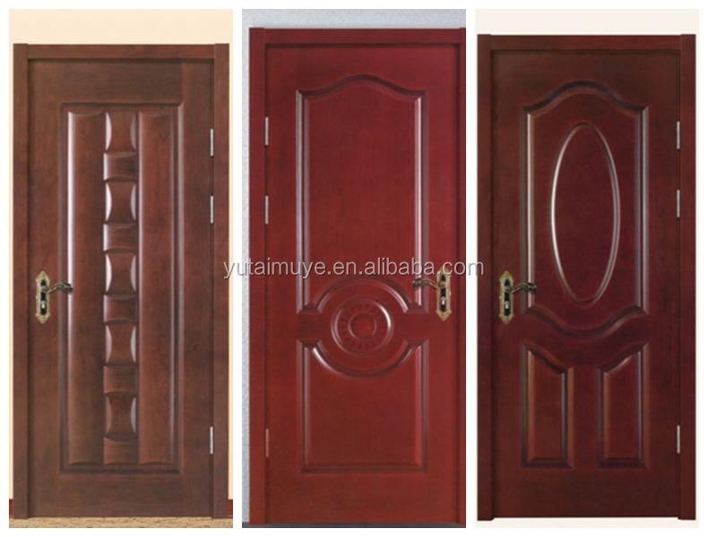 Puertas interiores de madera con vidrio for Disenos para puertas de madera