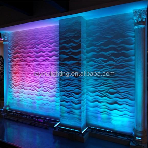 dmx rgb led wall washer-18w
