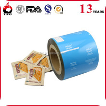 Buy direct from china factory most popular plastic colored bopp film roll