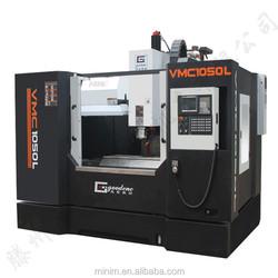 siemens/fanuc controller VMC1050L vertical low cost cnc milling machine