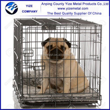 2 Door Wire Dog Crate/Life Stages Portable Dog Crate