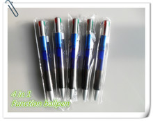 Multi-function high quality metal clip ballpoint pen ,4 in 1 ballpen pen CH-6116A ,good for promotion