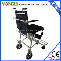 Small size portable outdoor recliner wheel chair