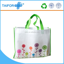 High quality pictures printing non woven cloth shopping bag