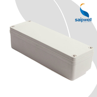 SAIP/SAIPWELL Quick Offer ABS Waterproof Box 80*250*85mm Dustproof Showerproof Solid Cover ABS Plastic Electrical Enclosure