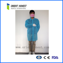 High performance breathable disposable doctor coat