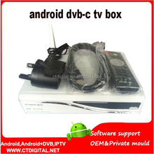 cable receiver 801c android for singapore STREAMBOX D1c hd cable tv receiver with Android function wifi inside