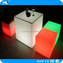 led cube stool led bar cube color change magic cube in wedding display partu happy night meeting