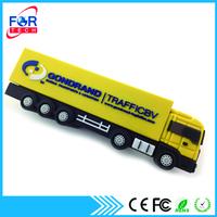 PVC Gift Promotional Truck Shaped USB Flash Drive Wholesale