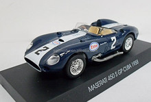 1958 maserati 450 s gp cuba mini die cast metal cooper model car