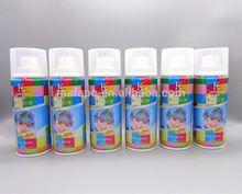 Aerosol hair spray hair matt clay