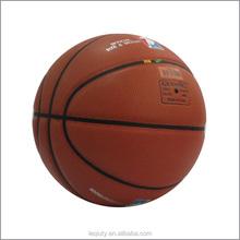 8 panel rubber bladder official basketball ball