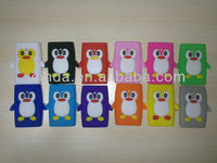 New Cute Penguin Silicone Soft Case Cover Skin For LG E400 Optimus L3