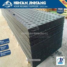 road way system black virgin high density polyethylene sheet/hdpe virgin anti slip pad/uhmw ground mat outdoor