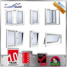 Superhouse waterproof energy saving aluminium window with Australia Standard AS2047