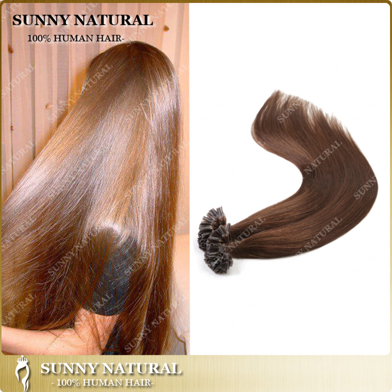 Sunny Wholesale Price Pre Bonded Hair Extension Iuvflatnail Tip