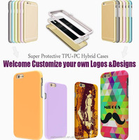 Factory competitive price wholesale 3D effect colorful design tpu pc cell phone case, for iphone 6 case