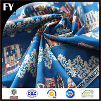 factory direct production 100 printed cotton fabric for bedsheet