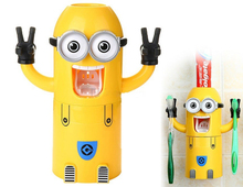 Christmas gift for Organic children automatic toothpaste dispenser toothpaste with Flavorful
