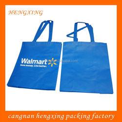 Blue Color Polypropylene Non Woven Fabric Shopping Bags