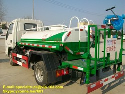 4*2 Mini Water Bowzer Truck FOTON brand for sale