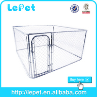 large outdoor chain link box pet kennel dog supply