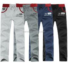 Wholesale Cheap Fleece Sports Pants French Terry Jogging Pants Custom Design Printed Cotton Pants