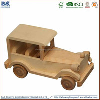 Good quality hand made antique wooden car toys