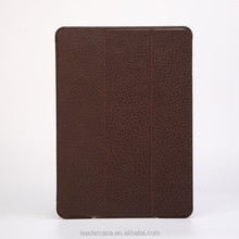 Magnetic PU Stand Flip Cover For iPad 5, Sleep Wake Up Case For iPad Air