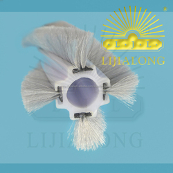 new project haining lijialong brand industrial series house using machine roller for cleaning and dust-proof wool brush