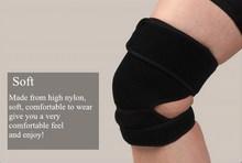 Elastic Wraparound Black Sports Neoprene Leg Knee Protector Guard Pad Brace