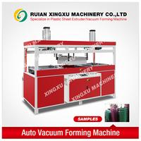 Plastic sheet luggage case vacuum forming machine (auto type)
