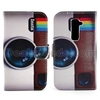 Wallet Style Foldable Stand Cross Texture Leather Case for LG Optimus G2 D801 D802 D803