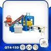 Concrete block making machine (QT4-15D) concrete block making machine for sale