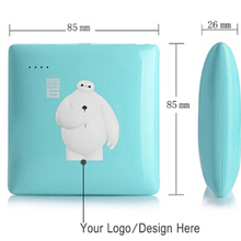 Portable Mobile Power Bank Two USB Customized Battery Charger for iPhone