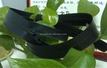 factory supply high quality nylon teeth TPU waterproof zipper for garment and bag