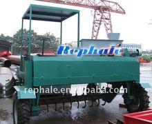 best-selling organic fertilizer granulator mobile fermenting equipment 0086-37167670501